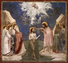 the baptism of christ 4 angels and people the scriptorium daily