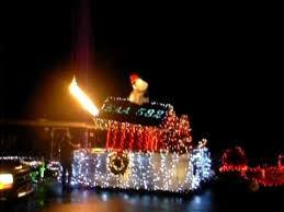 christmas light parade floats eaa chapter 582 light parade float snoopy red baron youtube