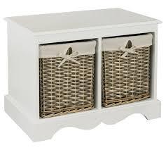 buy collection new malvern hallway shoe storage bench white at