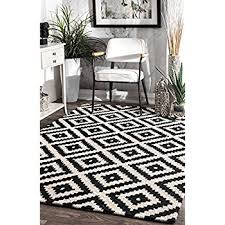 Modern Black And White Rugs Attractive Black And White Rugs Pertaining To Rug Shopping A 300