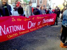 thanksgiving is national day of mourning and american