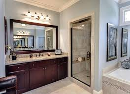 framing bathroom mirror with molding diy bathroom mirror frame with molding the happier homemaker