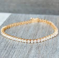 vintage jewelry bracelet images Vintage thin gold tennis bracelet with clear gemstones gold west JPG