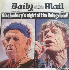 rolling stones do glastonbury by si2000 meme center