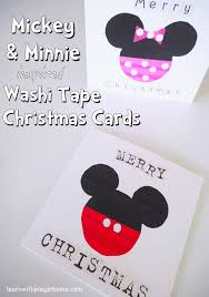 learn with play at home mickey and minnie mouse washi tape