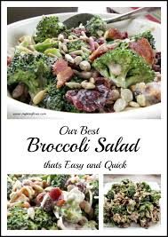 bacon sunflower seeds best broccoli salad recipe that is easy and
