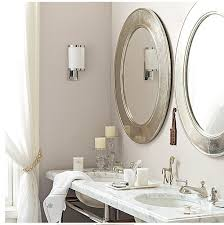Oval Mirrors For Bathroom Oval Mirrors For Bathroom Silver Vanity Throughout Decor 8