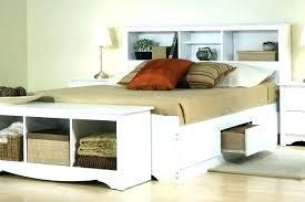 Bookcase Headboard King Headboard With Storage Storage Headboard For Bed Storage