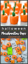 halloween marshmallow pops the weary chef