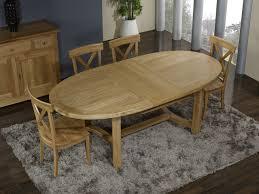 table ovale avec rallonge table de ferme ovale en chêne massif de style cagnard 170 110