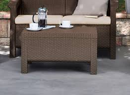 coffee table rattan coffee table round wicker with glass top â