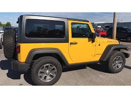 jeep yellow yellow jeep wrangler in illinois for sale used cars on