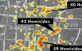 Kansas City Metro Map by A History Of Kansas City Homicides And Violent Crimes Mapped By