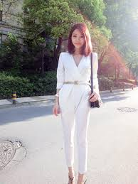 sleeve jumpsuits for v front jumpsuit fashion homecoming playsuits and