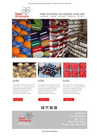 7 free and professional newsletter templates for wholesale sector