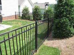 echelon aluminum fence residential ornamental aluminum fence