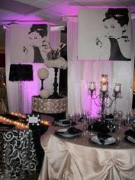 Sweet 16 Dinner Party Ideas Chanel Inspired Party Decorations Chanel Theme Simple And