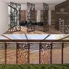 Decorative Screens Screens Indoor Outdoor 3d Max