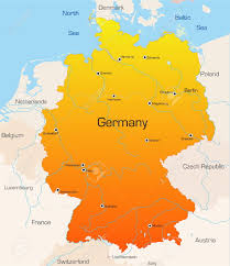 Map Of Germany And France Abstract Vector Color Map Of Germany Country Royalty Free Cliparts