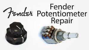 fender jazz bass pot repair youtube