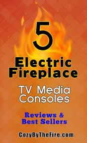Electric Fireplace Media Console 5 Electric Fireplace Media Consoles That Buyers Are Raving