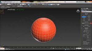 3d Max by 3ds Max Tutorial 3 Sphere And Simple Manipulation Youtube