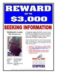 Seeking Miami Miami Dade Crime Stoppers Flyers