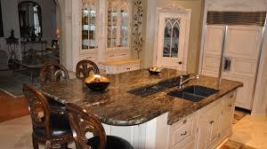 granite kitchen islands awesome kitchen island granite modern top visionexchange co stylish