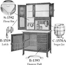sellers hoosier cabinet hardware kraftmaid cabinet replacement parts home furniture design