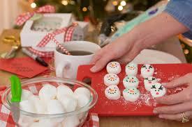 snowman marshmallows diy snowman marshmallows designs