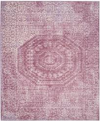 fuchsia watercolor area rug valencia collection safavieh