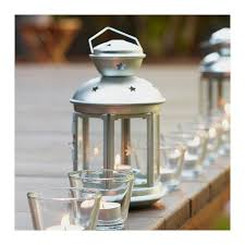 Rotera Lantern For Tealight Galvanized Indoor Outdoor Galvanized
