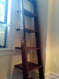 Diy Shelf Leaning Ladder Wall by Leaning Shelf Walmart Canada Ladder Shelves Diy Woodworking Plans