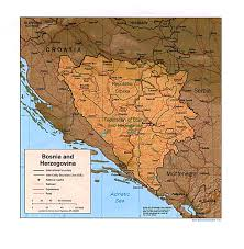 Flag Of Bosnia Bosnia Maps Perry Castañeda Map Collection Ut Library Online