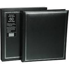 photo album with black pages imagine drymount 60 page photo album black big w