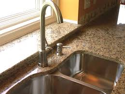 kitchen faucet on granite countertop fresh kitchen faucets granite