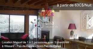 location maison nord particulier 3 chambres location maison à wissant iha 8545