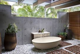outdoor bathroom for pool drawers and white wooden french window