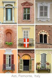 Different Architectural Styles by The Windows Of Asti Piemonte Italy U2013 Travels With Tricia