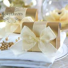 boxes for wedding favors free shipping 100pcs gold treasure candy boxes wedding favors
