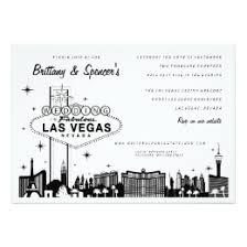 las vegas wedding invitations vegas wedding invitations announcements zazzle