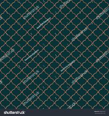 vintage halloween tile background elegant seamless pattern classic tiling vector stock vector
