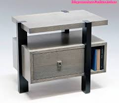 Metal Bedside Table Table The Most Stylish In Addition To Gorgeous Modern Bedside