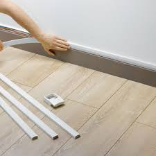 Recessed Baseboards by Plastic Cable Trunking Baseboard Residential Atriane Rehau