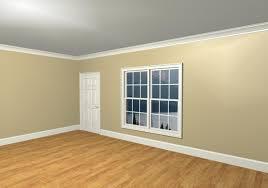 Modern Molding And Trim White Kitchen Dark Wooden Floor Innovative Home Design Modern