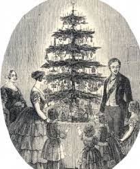 the royal roots of the american christmas tree history in the