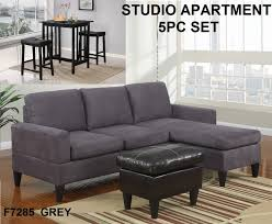 Apartment Sectional Sofas Apartment Gray Sectional Sofa