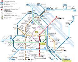 map of vienna vienna transport map vienna subway map vienna metro map