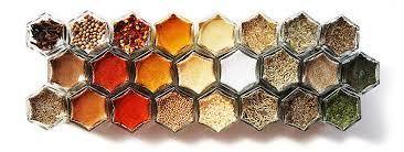 Spice Rack Empty Jars Amazon Com Gneiss Spice Diy Magnetic Spice Rack Includes Empty