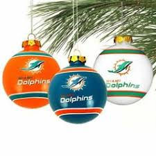 miami dolphins traditional ornament items